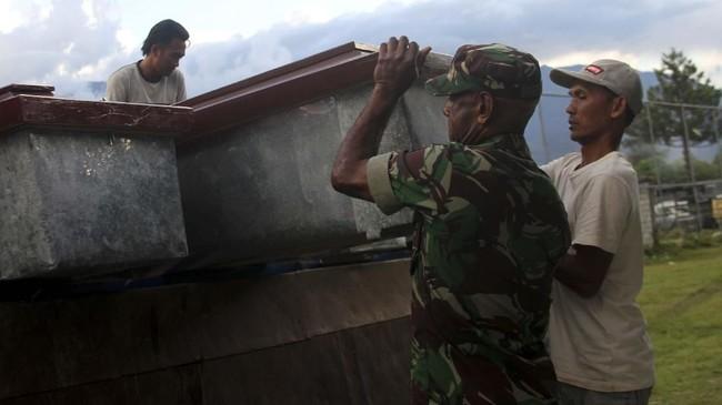 Pentolan KKB Pecatan TNI, Senaf Soll Tewas di RS Bhayangkara