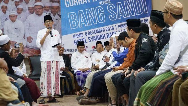 Kubu Badan Pemenangan Nasional (BPN) menampik anggapan bahwa Sandi menjual saham lantaran BPN sangat kesulitan dalam hal dana kampanye.