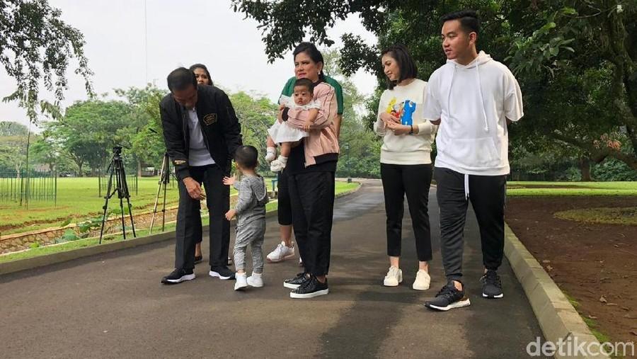 Kocaknya Komentar Kaesang Saat Jokowi Quality Time Bareng Cucu