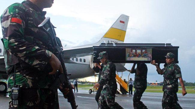 Selama sepekan terakhir, enam orang menjadi korban penembakan di Papua. TNI dan Polri mengklaim KKB sebagai kelompok yang bertanggung jawab.