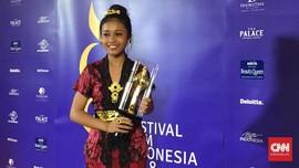 Kegembiraan Ni Kadek Menang Piala Citra Pemeran Anak Terbaik