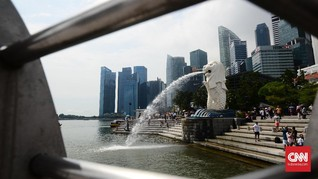 Berkunjung ke Singapura, Wisatawan Harus Pakai Gelang Pelacak