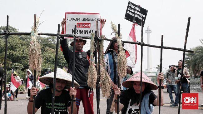 Pernyataan Jokowi yang ingin warga aktif mengkritik, direspons YLBHI dengan membeberkan peningkatan ancaman terhadap kebebasan berpendapat 3 tahun terakhir.