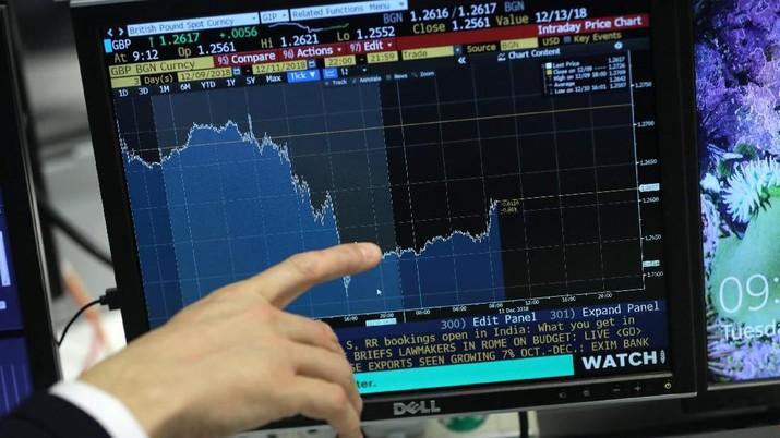 Bursa Eropa Terjerembab di Zona Merah pada Pembukaan