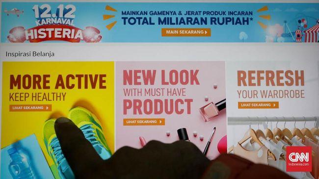CNNIndonesia.com merangkum delapan marketplace dengan penawaran diskon terbaik