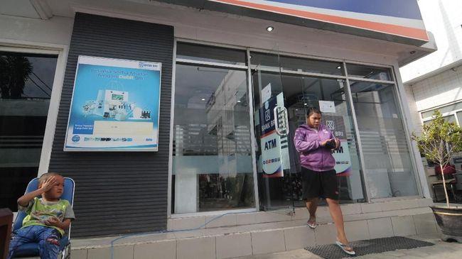 BRI menyebut perampokan kantor cabang Tangerang terjadi pada Selasa (30/3) dini hari, saat vendor mengisi mesin ATM.