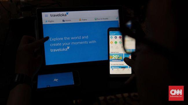 Situs Traveloka down dan tidak bisa diakses.