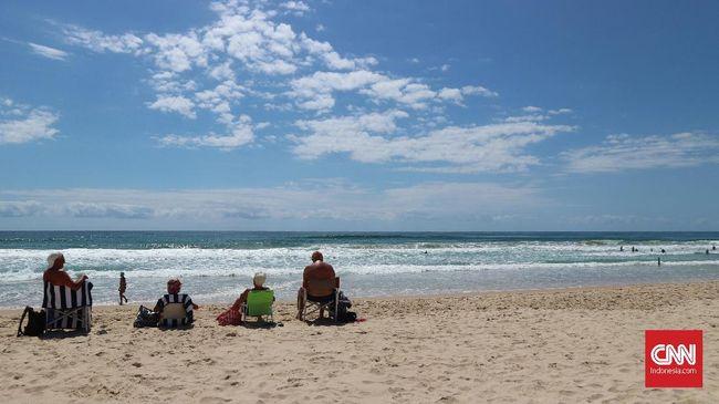 FOTO: 'Kantong-kantong' Turis di Queensland