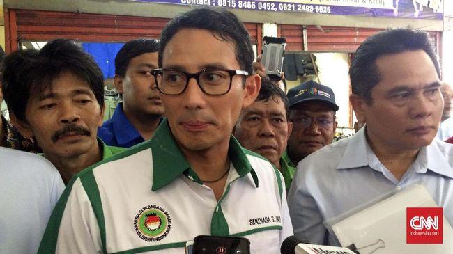 Calon wakil presiden Sandiaga Uno khawatir kotak suara 'kardus' membuat perangkat pendukung pemilu 2019 tidak optimal sehingga rawan kecurangan.