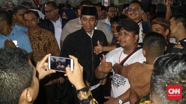 Pada Pilpres 2014 silam, pasangan Jokowi-Jusuf Kalla hanya mendapat 34,27 persen suara di Kabupaten Bogor, sementara Prabowo-Hatta memperoleh 63,73 persen.