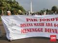 Keluarga Korban Lion Air Gabung Aksi Kamisan di Depan Istana