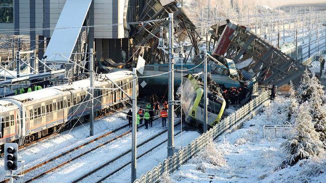 Korban tewas dalam kecelakaan kereta komuter di Denmark dikabarkan bertambah dan tidak ada warga asing.