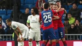 Real Madrid Dipecundangi CSKA Moscow 0-3 di Liga Champions