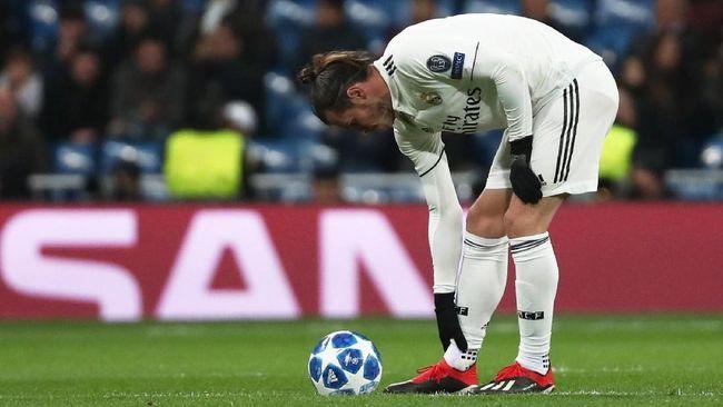 Kiprah penyerang sayap Real Madrid, Gareth Bale, lambat laun memudar meski sempat bersinar di awal kariernya bersama Los Merengues.