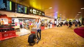 Bandara Changi Jadi Klaster Covid-19 Terbanyak di Singapura