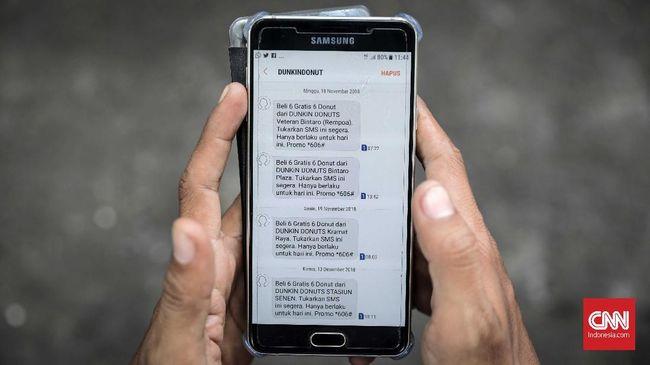 Komunitas Konsumen menyebut marak SMS penawaranyang dilakukan secara masif, berulang-ulang, dan dikirim pada waktu yang tidak wajar.