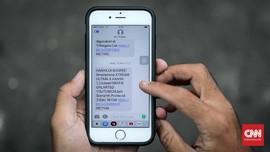 Pemerintah Siapkan SMS Blasting soal Corona Agar Warga Tenang