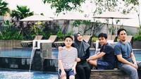 <p>Kalau Cindy Fatikasari dan Tengku Firmansyah dikaruniai dua jagoan, Bun. Namanya Tengku Kianu Zimraan dan Tengku Omar Atalla. (Foto: Instagram @cindyfatikasari18)</p>