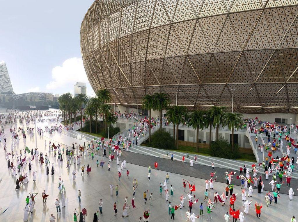 Megahnya Lusail Stadium, Venue Final Piala Dunia 2022 Qatar