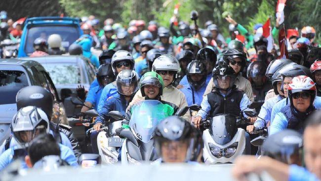 Calon Presiden Nomor Urut 02 Prabowo Subianto disarankan agar tak menggunakan ojek online sebagai objek untuk mengkritik pemerintah pusat maupun aplikator.