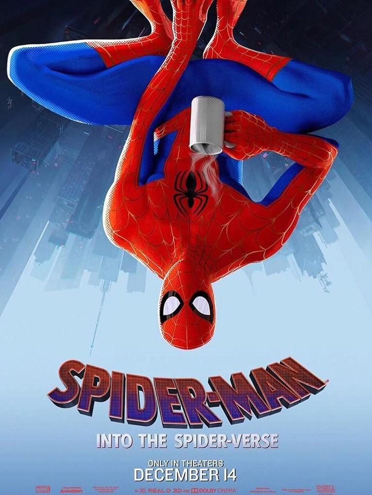 Peter B. Parker. Karakter ini dikisahkan sebagai Spider-Man yang mudah galau karena hubungannya berakhir dengan Mary Jane. Namun ia yang nantinya akan membimbing Miles menjadi seorang Spider-Man.
