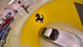 Perayaan Setengah Abad Schumacher di Museum Ferrari Maranello