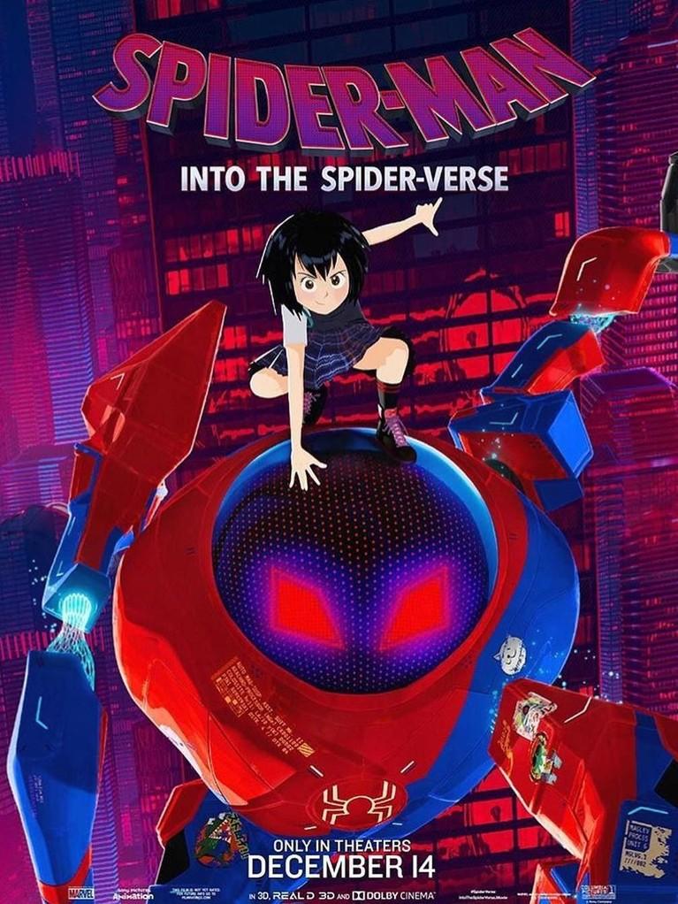 Peni Parker. Sosok Spider-Man juga akan hadir dalam bentuk sebuah robot raksasa. Peni Parker akan bertugas untuk mengenadalikan robot tersebut.
