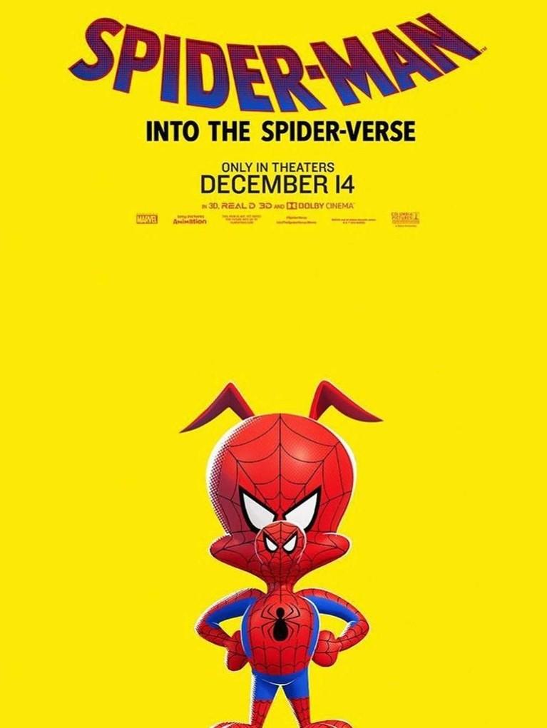 Spider-Ham. Karakter ini adalah yang paling unik karena tidak menyerupai manusia. Namun ia memiliki kekuatan dan kelincahan yang sebanding dengan laba-laba.