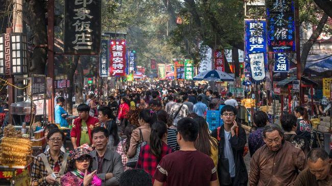 Pertumbuhan ekonomi China melambat ke 6,4 persen pada kuartal keempat 2018. Realisasi ini lebih lambat ketimbang kuartal sebelumnya, yaitu 6,5 persen.