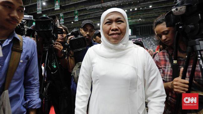 Kabid Humas Polda Jatim, Kombes Pol Frans Barung Mangera membenarkan pihak KPK menggali keterangan Gubernur Khofifah, berkaitan kasus suap Romahurmuziy.