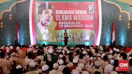 Jokowi: Kalau Saya Anti-Ulama, Tak Mungkin Ada Hari Santri