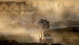 Kendaraan Tempur Rusia-AS Tabrakan di Suriah, Tentara Terluka