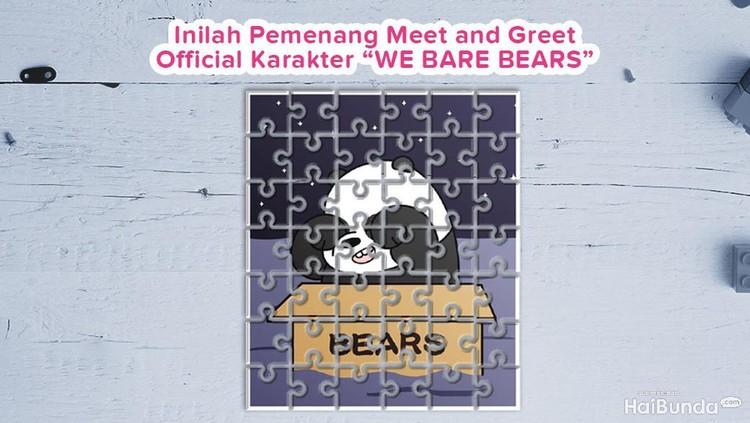 Kesepuluh Bunda ini berhasil menebak karakter Panpan dari We Bare Bears dengan tepat dan berhak mendapat hadiah dari kami. Selamat!