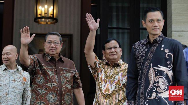 Ketua Umum Partai Demokrat Susilo Bambang Yudhoyono (SBY) disebut akan mengikuti jalannya debat capres perdana dari kediamannya.