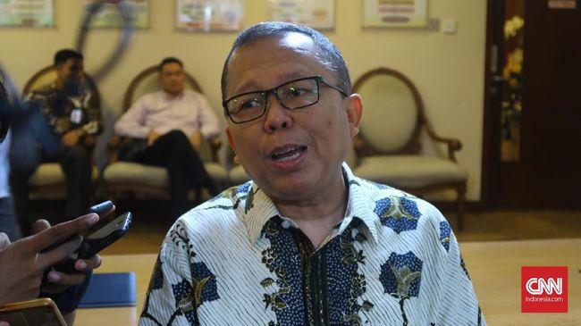 Sekretaris Jenderal PPP Arsul Sani menjelaskan persiapan debat di kubu Joko Widodo-Ma'ruf Amin di kompleks parlemen, Jakarta, Jumat (21/12).