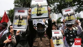 FOTO: Seruan Alumni 212 untuk Muslim Uighur