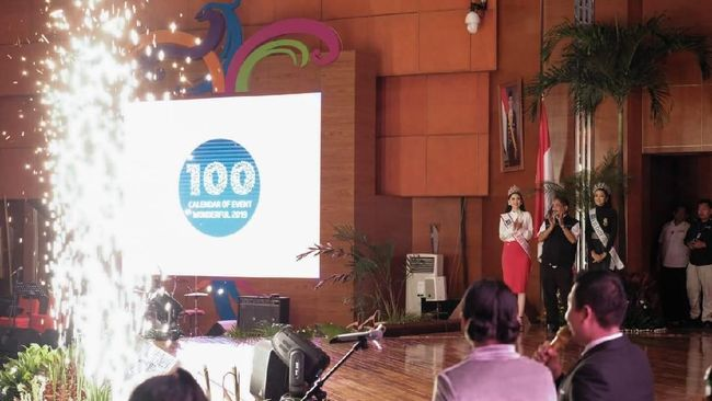 Menteri Pariwisata Arief Yahya mengungkapkan Calendar of Events Wonderful 2019 dibuat atas prakarsa Presiden Joko Widodo.