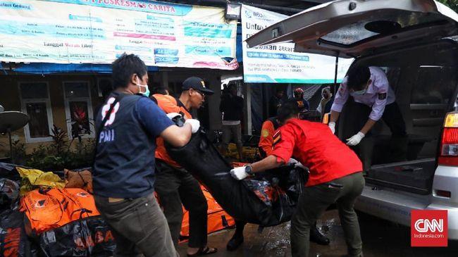 Sebanyak 52 jenazah korban gelombang tinggi tsunami Selat Sunda ditemukan di kawasan wisata Tanjung Lesung, Kabupaten Pandeglang.