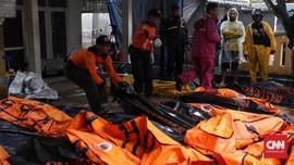67 Jenazah Korban Tsunami Selat Sunda di Puskesmas Carita