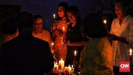 FOTO: Merayakan Natal Bersama Korban Tsunami Selat Sunda
