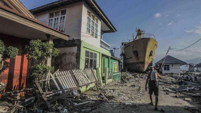 Palu, Pantai Selatan Jawa, dan Barat Sumatera Rawan Bencana