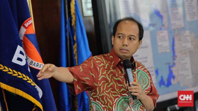 Sutopo juga menyinggung ketiadaan teknologi yang mampu mengantisipasi potensi tsunami karena aktivitas erupsi.