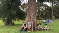 <p>Liburan kali ini, Glenn Alinskie dan keluarga mengunjungi Singapura, bagus ya tamannya. Dokumentasi: @dartjong (Foto: Instagram @ glennalinskie)</p>