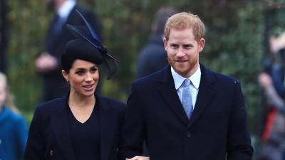 Ucapan Romantis Pangeran Harry di Ulang Tahun ke-38 Meghan Markle