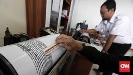 Gempa Banten 5,4 M Tidak Berpotensi Tsunami