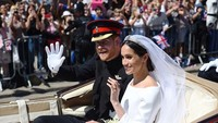 <p>Tepat pada 19 Mei 2018, Meghan dan Pangeran Harry resmi menikah. Pemberkatan dilakukan di St. George's Chapel, Windsor Castle. (Foto: Instagram/kensingtonpalace)</p>