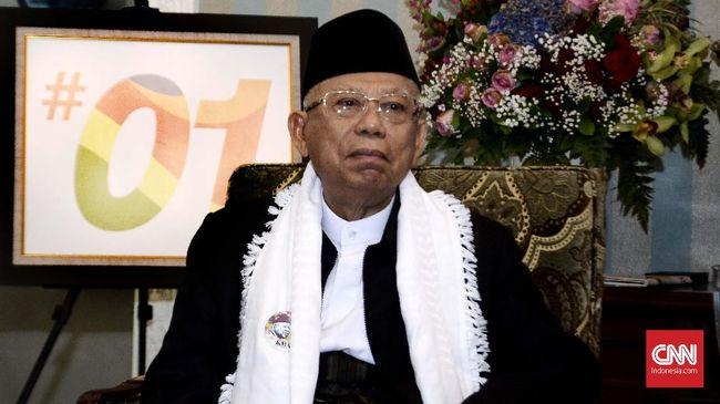 Cawapres nomor urut 01 Ma'ruf Amin menyatakan semasa dirinya masih muda, banyak orang yang cukup bangga dengan kiprah timnas Indonesia  di kancah dunia
