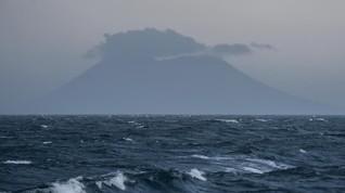 Menguak Gelembung Besar di Selat Sunda Dekat Gunung Krakatau