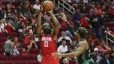 James Harden mencetak 45 poin dan membawa Houston Rockets menang atas Boston Celtics dalam laga NBA.