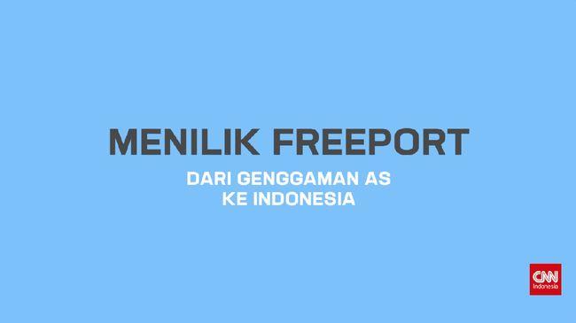 Menilik Freeport dan Upaya Jokowi Genggam Saham Mayoritas
